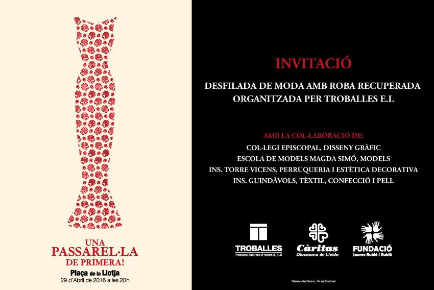 TROBALLES DESFILADA 2016 INVITACIÓ MAIL